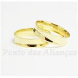 aliança de casamento de ouro sob encomenda Mooca