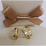 aliança de ouro casamento