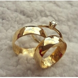aliança de ouro de casamento Mauá