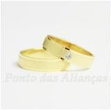 alianças de casamento de ouro Santa Cecília