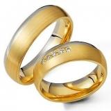 alianças de ouro bodas de prata Bela Vista