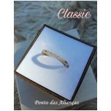 anéis em ouro com pedra Luz