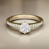 anel em ouro 18k feminino preço José Bonifácio