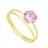 anel em ouro para noivado