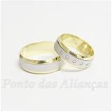 pedido aliança de ouro bodas de prata Ponte Rasa