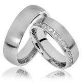 valor da aliança de casamento ouro branco Cambuci