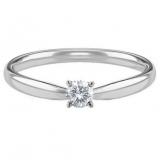 valor da encomenda anel em ouro branco Aclimação