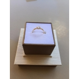 valor de anel em ouro feminino Anália Franco