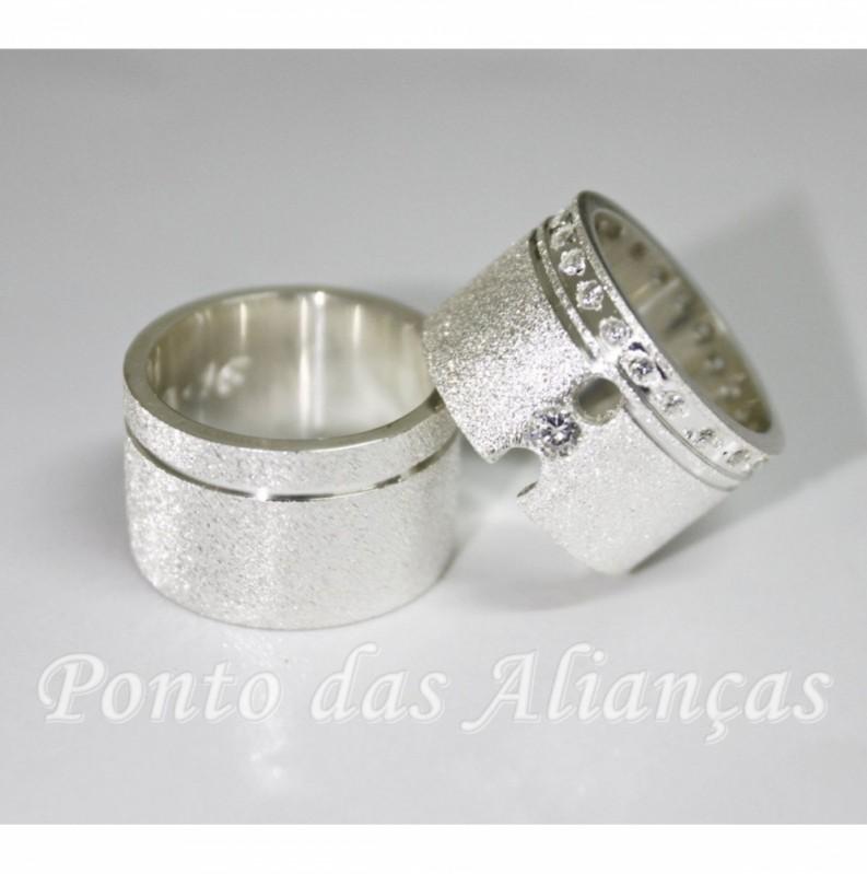 Alianças de Compromisso Diferentes Valor Itaim Paulista - Alianças de Compromisso Finas