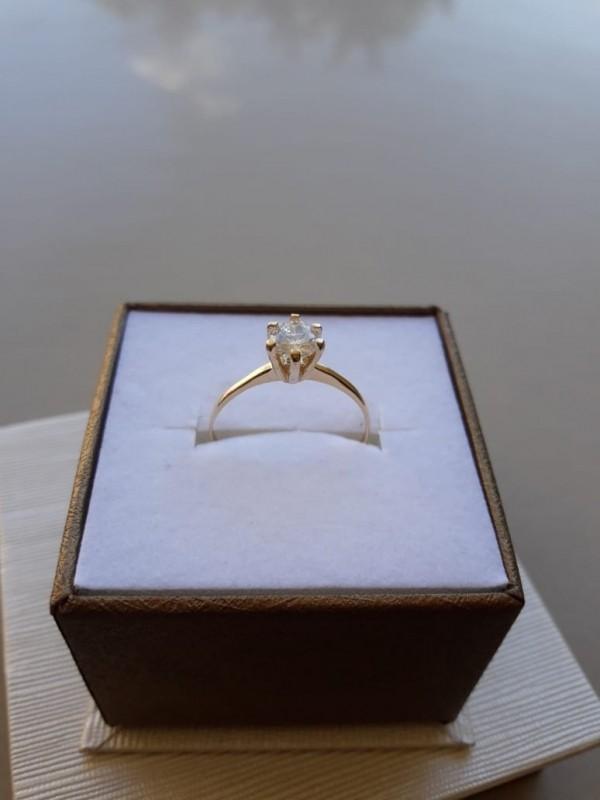 Anéis em Ouro para Noivado Bom Retiro - Anel em Ouro 18k Feminino