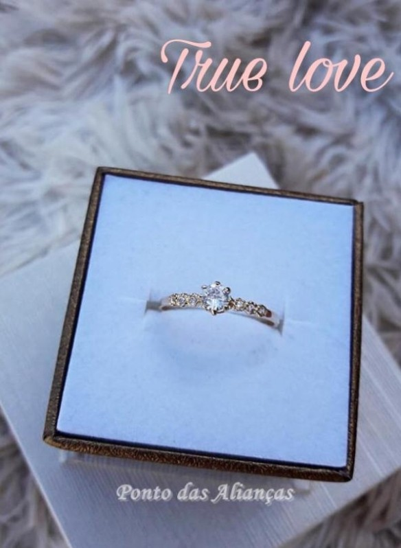 Anéis em Ouro Rose Trianon Masp - Anel em Ouro 18k Feminino