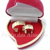aliança de casamento de ouro Consolação