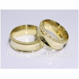 aliança de casamento luxo Piqueri