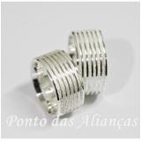 aliança de compromisso prata Vila Carrão