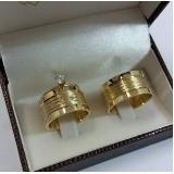 aliança de noivado de ouro valores Jardim Iguatemi