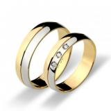 aliança de ouro bodas de prata