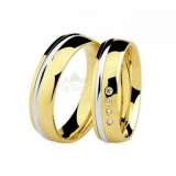 aliança de ouro bodas de prata por encomenda Belém