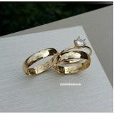 aliança de ouro casamento Pari