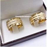 alianças de casamento com pedra Vila Dila
