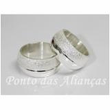 alianças de compromisso de prata valor Itaim Paulista