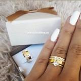 alianças de noivado de ouro Sapopemba