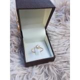 anéis em ouro feminino Brás