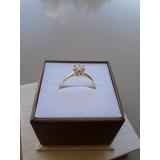 anéis em ouro para noivado Vila Ré