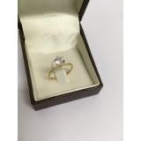 anel em ouro 18k feminino Jardim Helian