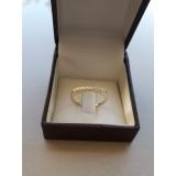 anel em ouro feminino Sé