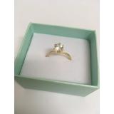 anel em ouro para noivado preço Parque São Lucas