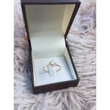 anel em ouro rose preço Pirambóia
