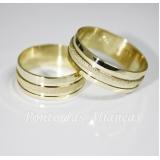 onde comprar aliança de casamento de ouro Vila Esperança