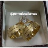 onde encontro aliança de ouro de casamento Cidade Tiradentes