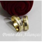 pedido aliança de ouro 18k Piqueri