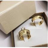 pedido aliança de ouro de noivado Vila Formosa