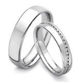 preço de aliança de noivado de ouro branco Brás