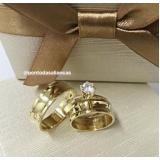 preço de aliança de noivado ouro 18k Jardim Helian