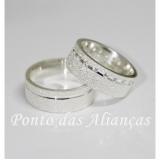 quanto custa alianças de compromisso em prata Santo André