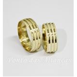valor da aliança de casamento de ouro Jardim Iguatemi
